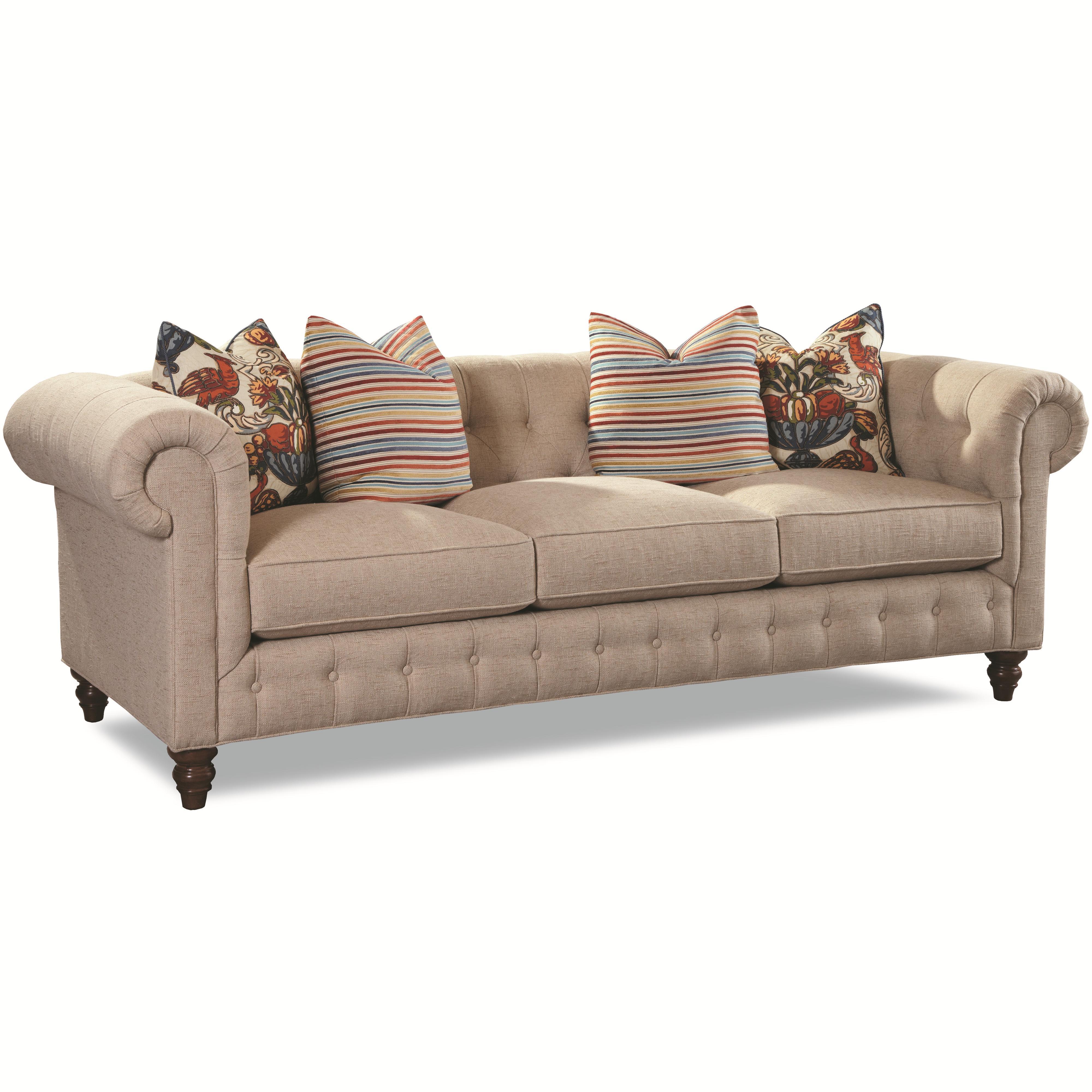 7498 Traditional Sofa by Geoffrey Alexander at Sprintz Furniture