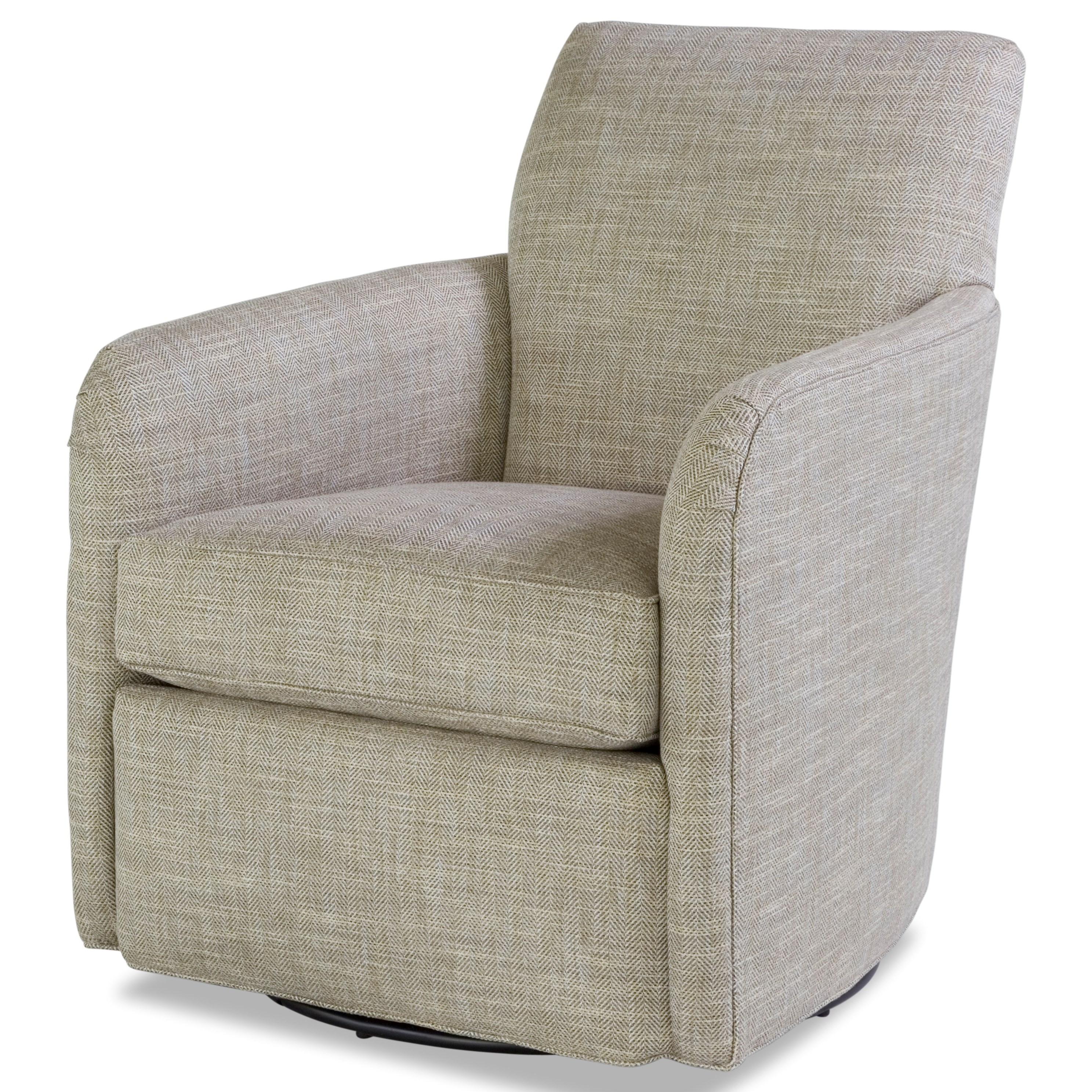 7711 Swivel Chair by Geoffrey Alexander at Sprintz Furniture