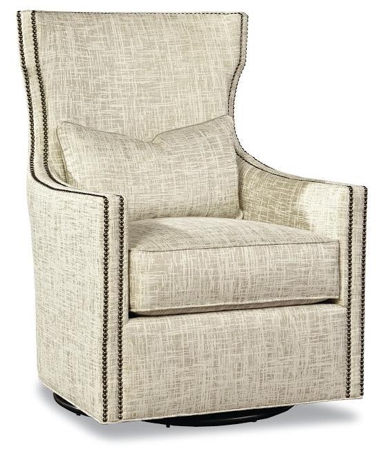 7720 Collection Swivel Chair by Geoffrey Alexander at Sprintz Furniture