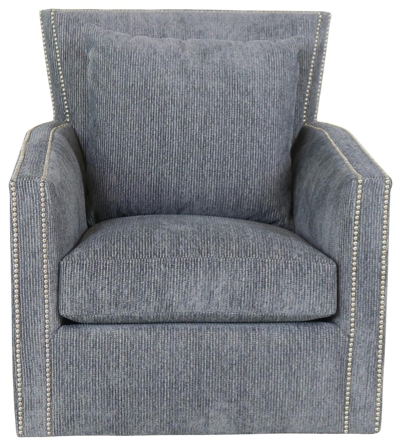 7721 Swivel Chair by Geoffrey Alexander at Sprintz Furniture