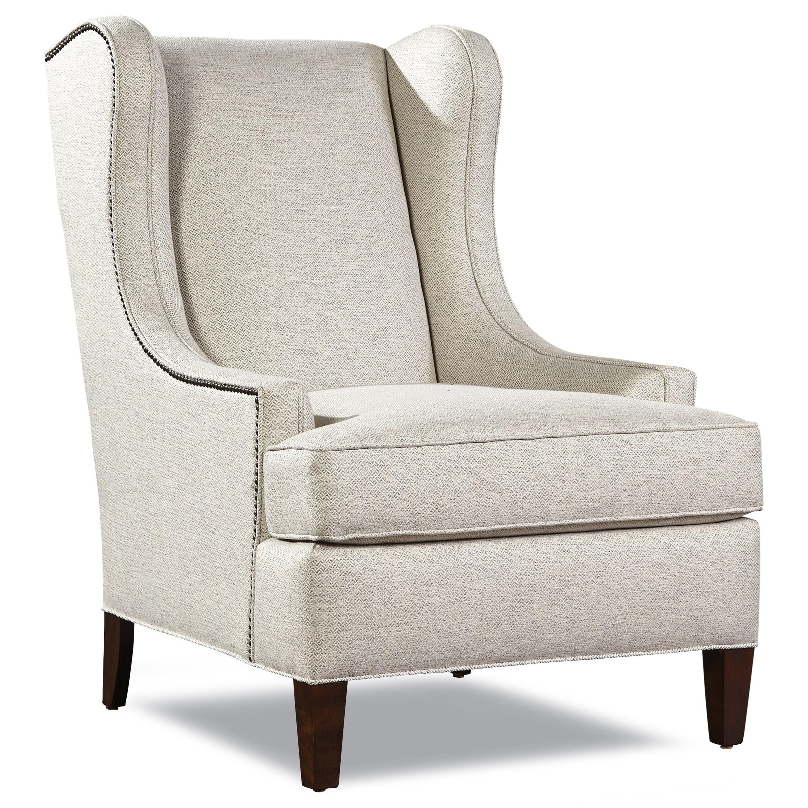 7735 Wing Chair by Geoffrey Alexander at Sprintz Furniture