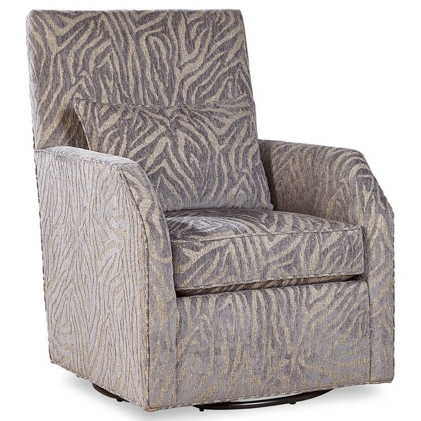 7772 Swivel Chair by Geoffrey Alexander at Sprintz Furniture