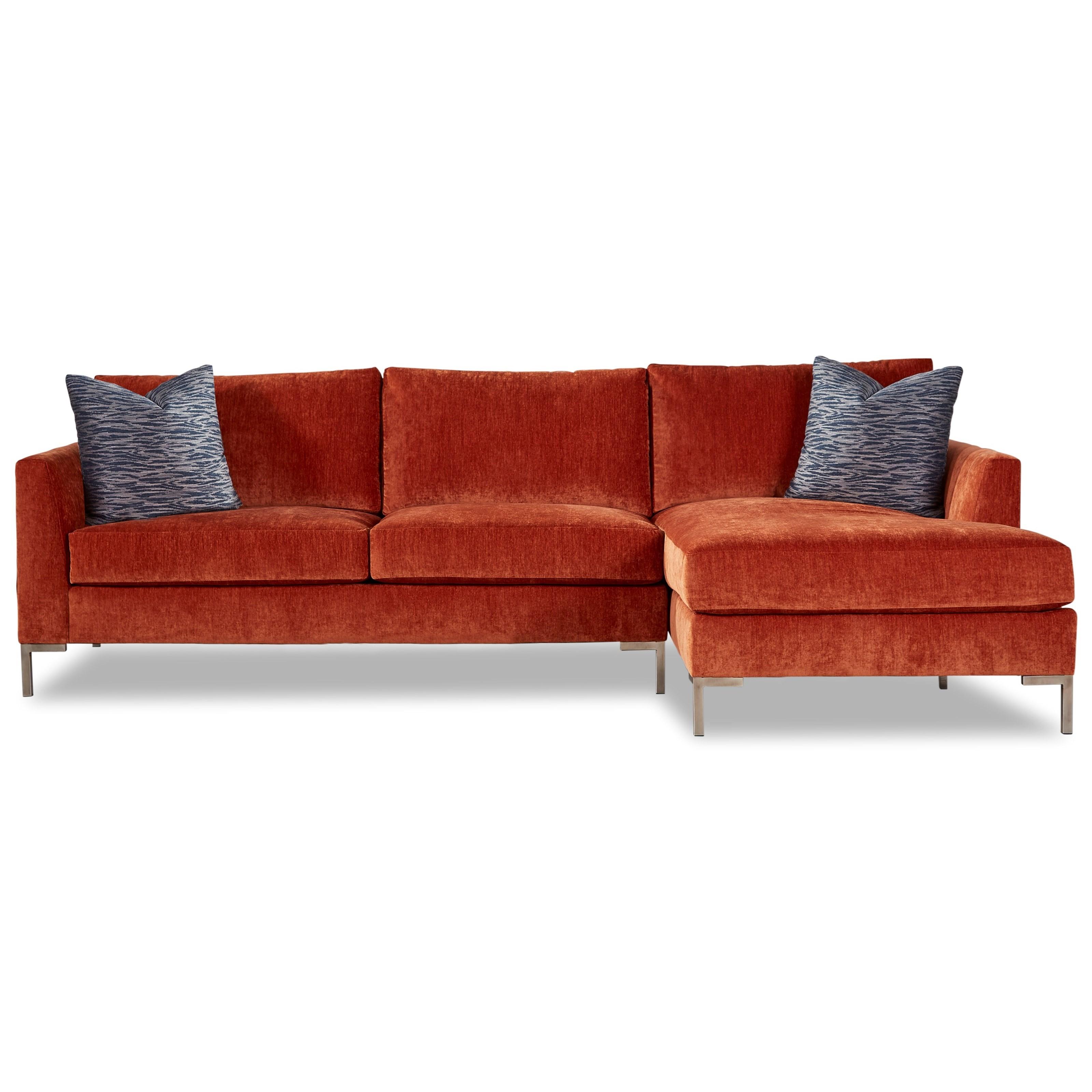 8014 Sectional Sofa by Geoffrey Alexander at Sprintz Furniture