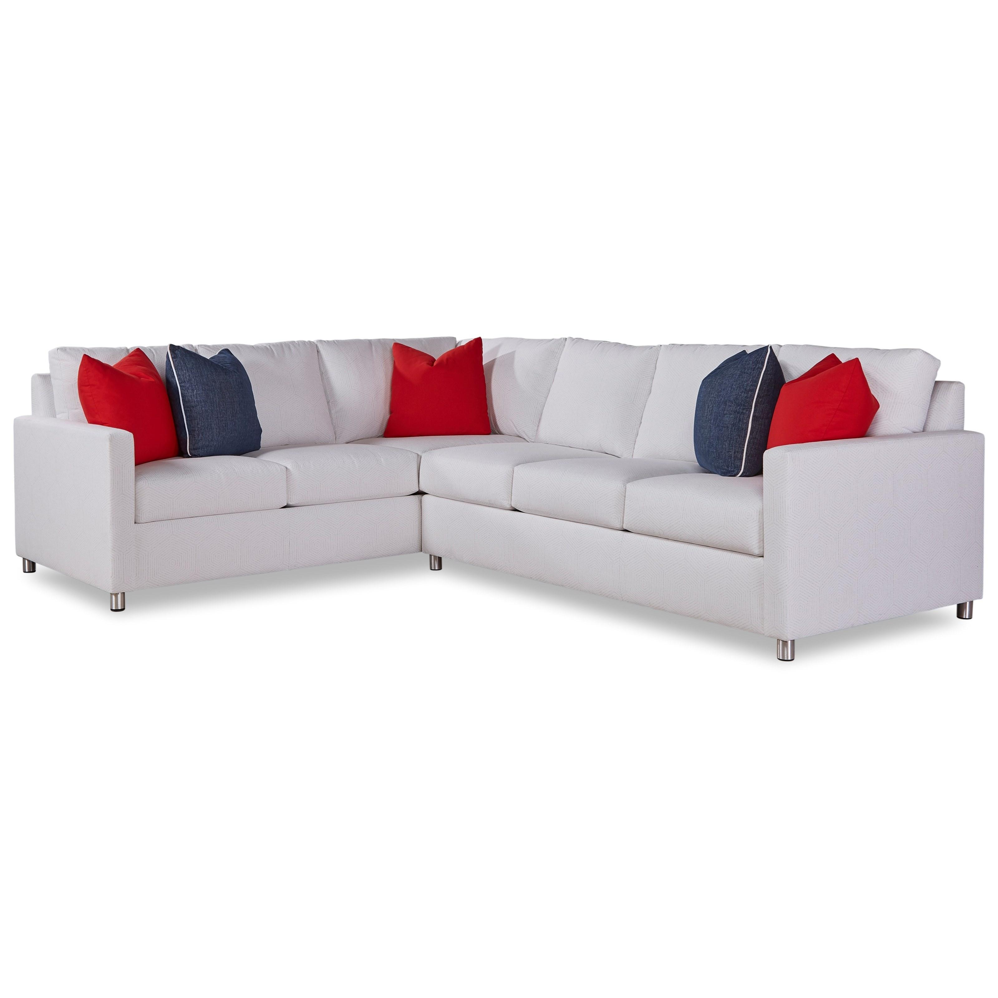 9100 Outdoor Sectional by Geoffrey Alexander at Sprintz Furniture