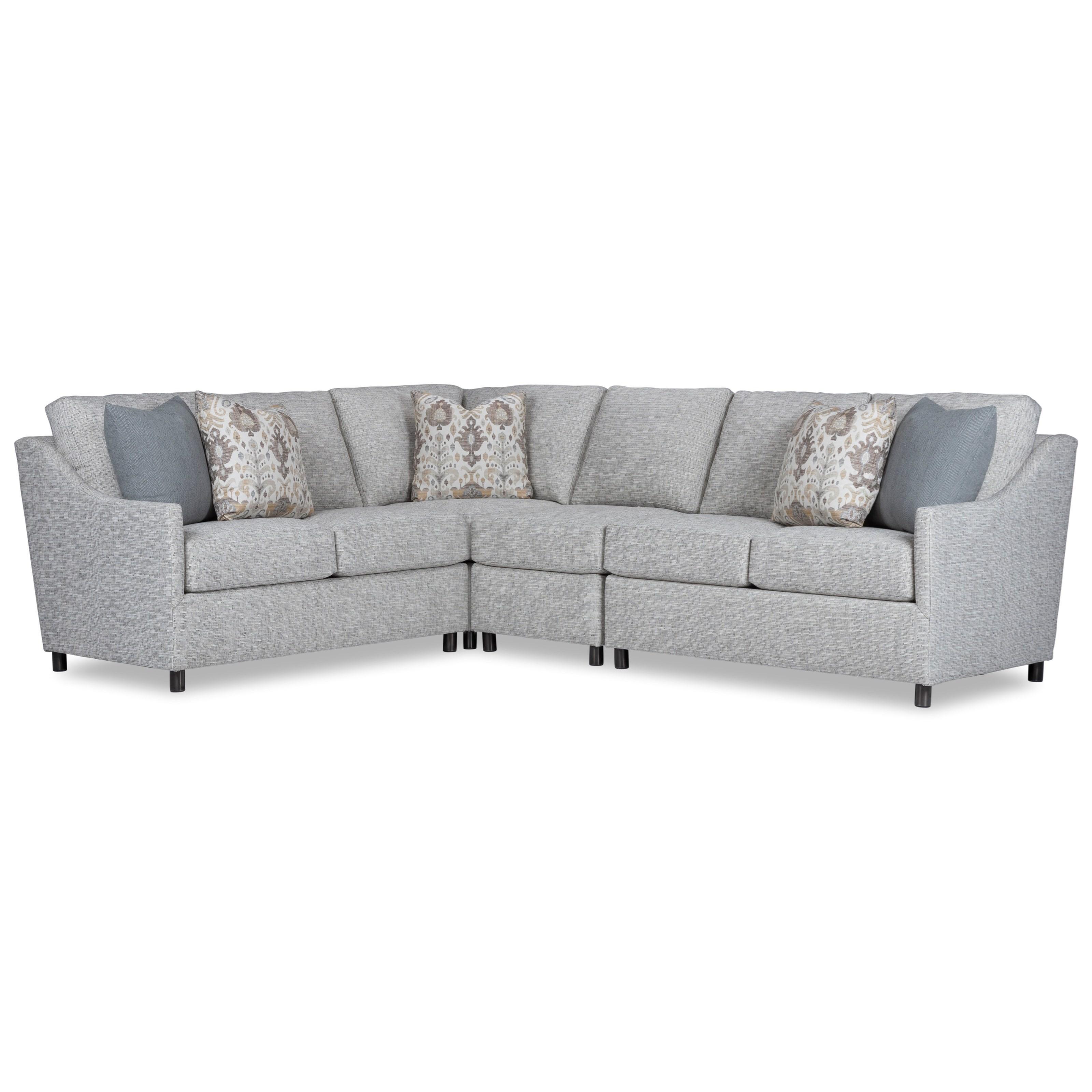 9101 Outdoor Sectional by Geoffrey Alexander at Sprintz Furniture