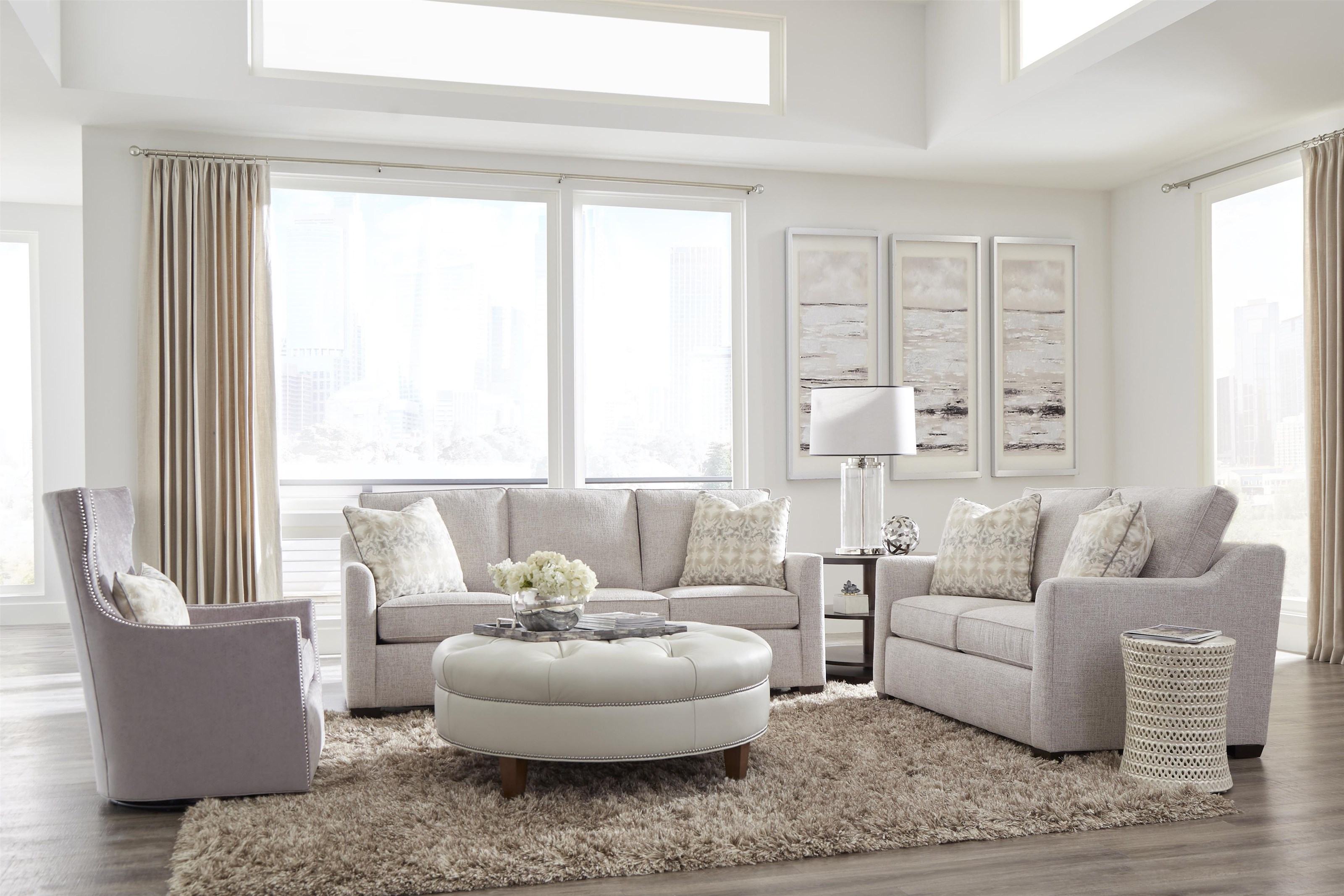 Simplicity Living Room Group by Huntington House at Baer's Furniture