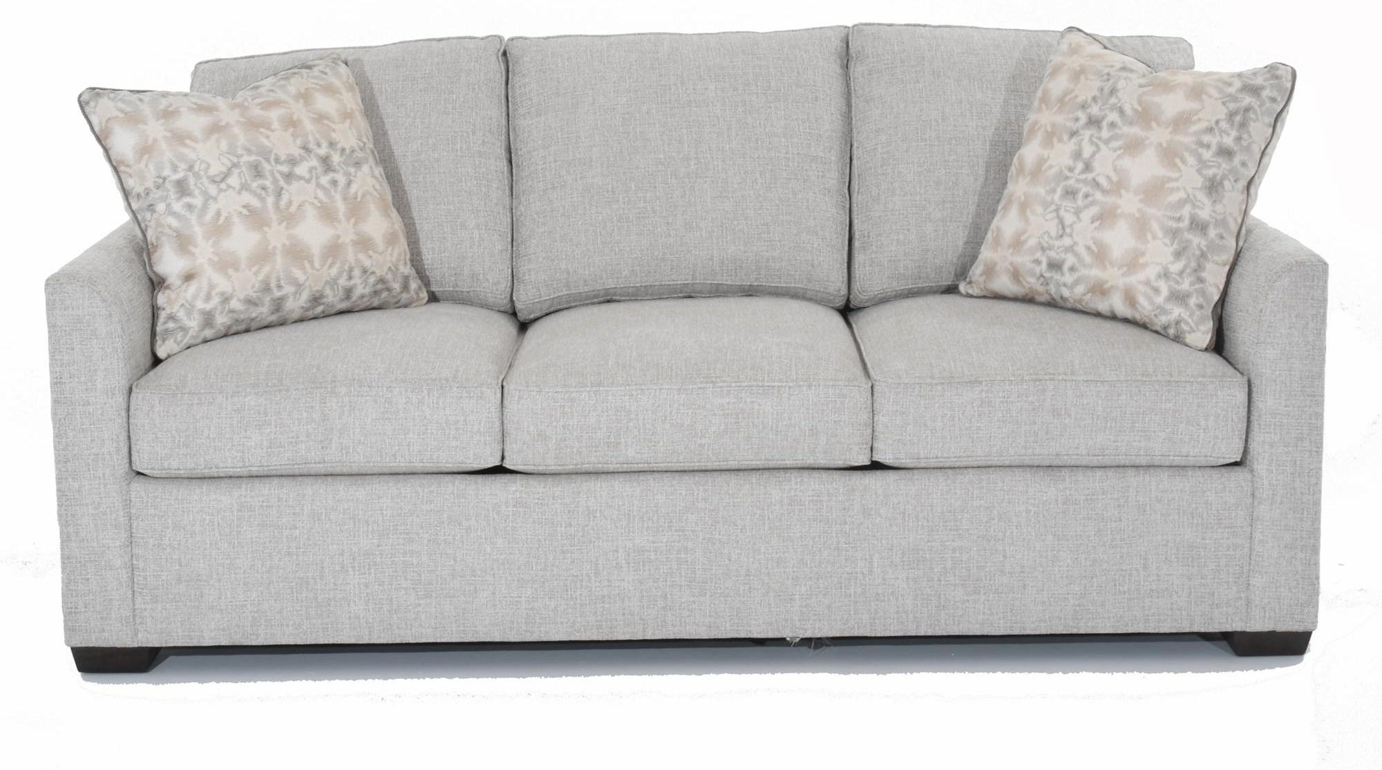 "Simplicity 84"" Tuxedo Arm Sleeper Sofa by Huntington House at Baer's Furniture"