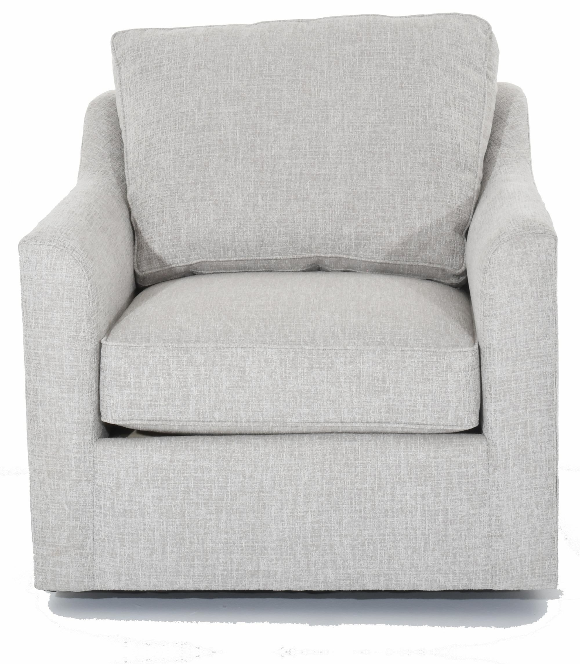 Simplicity Customizable Tux Arm Swivel Chair by Huntington House at Baer's Furniture