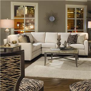 Huntington House Solutions 2053 Sectional Sofa