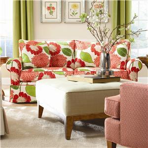 Huntington House Solutions 2053 Two Cushion Sofa