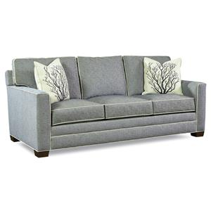 Customizable 3 Cushion Stationary Sofa