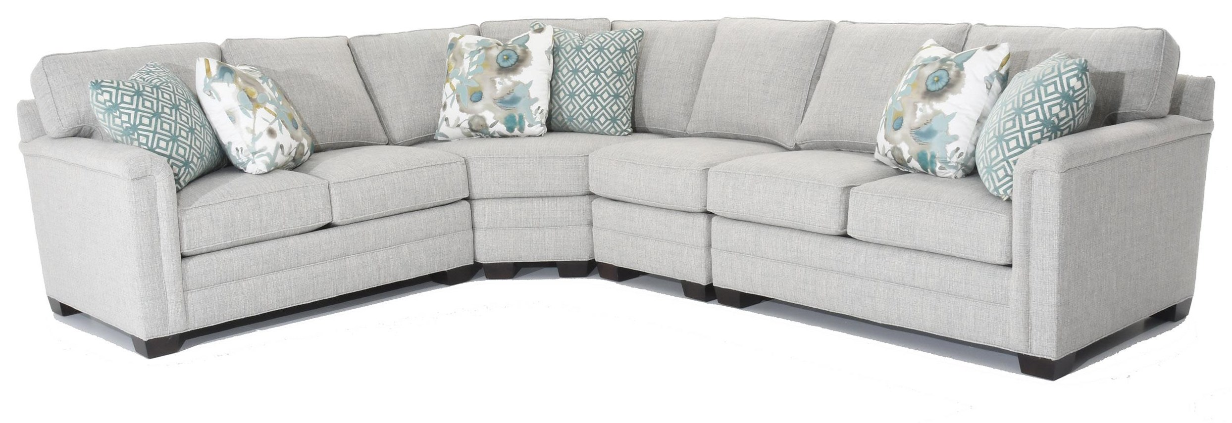 Solutions 2053 Customizable Sectional by Huntington House at Baer's Furniture