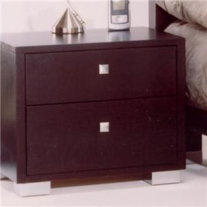 Huppe Italia 2 Drawer Nightstand
