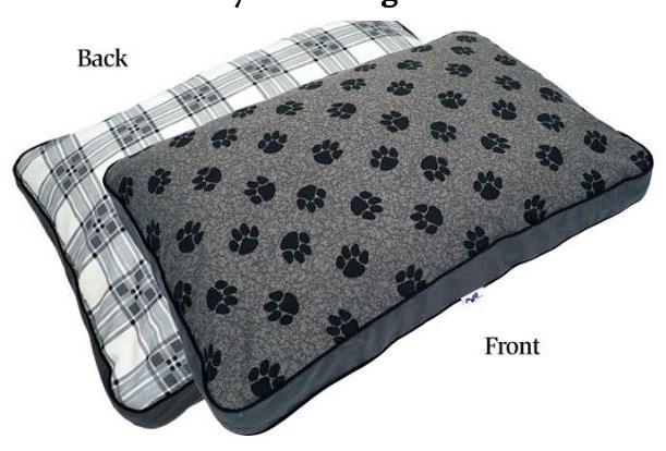 My Pillow Accessories MEDIUM DOG BED by I Love My Pillow at Furniture Fair - North Carolina