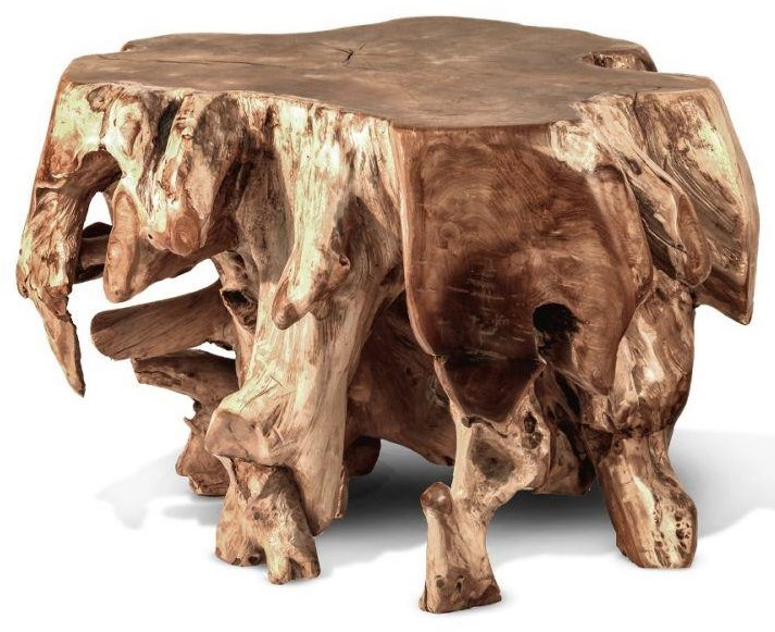 Coffee Tables Teak Block Table by Ibolili at Jacksonville Furniture Mart