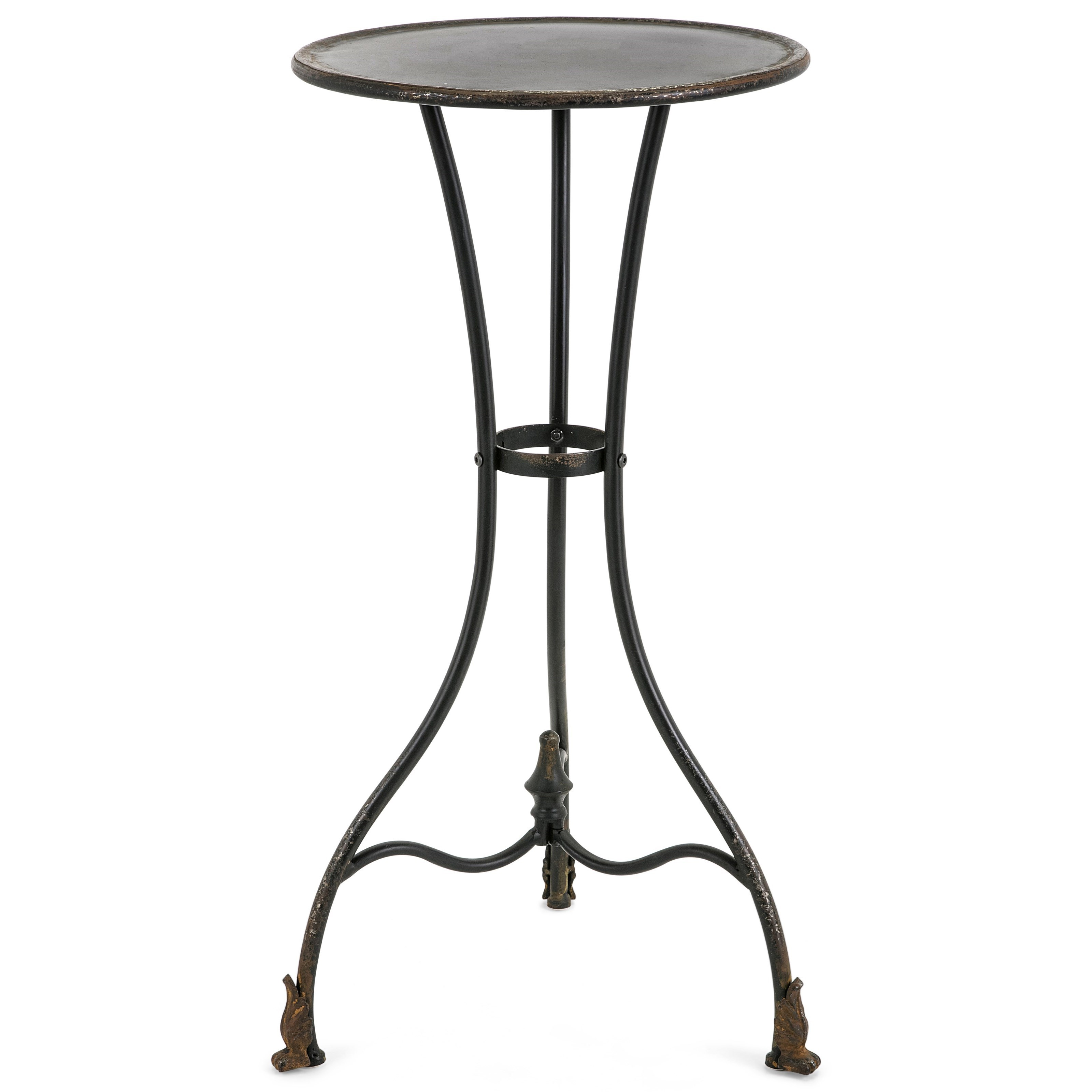 Accent Tables and Cabinets Cliffton Large Metal Accent Table by IMAX Worldwide Home at Alison Craig Home Furnishings