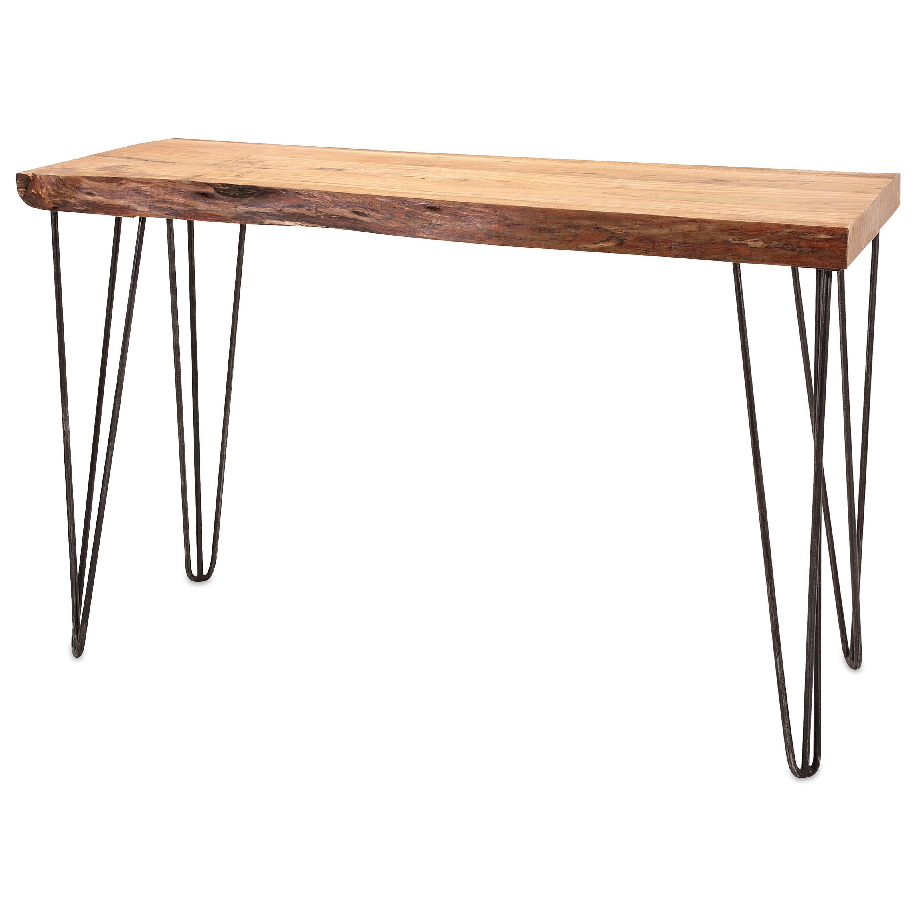 Accent Tables and Cabinets Crispin Acacia Wood Console by IMAX Worldwide Home at Alison Craig Home Furnishings