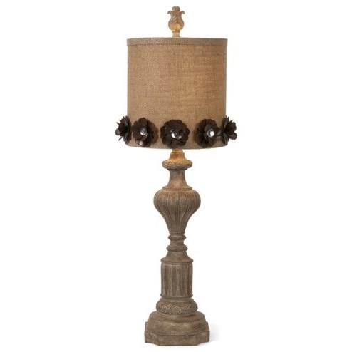 Becky Fletcher Josephine Table Lamp by IMAX Worldwide Home at Alison Craig Home Furnishings