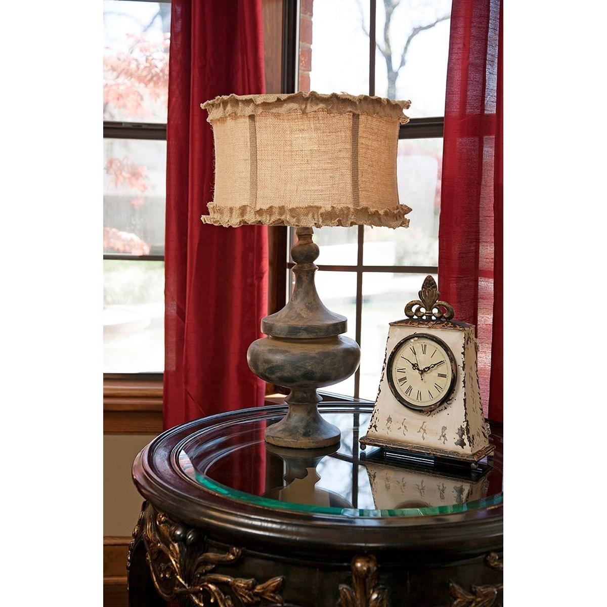 Becky Fletcher Florissa Table Lamp by IMAX Worldwide Home at Alison Craig Home Furnishings