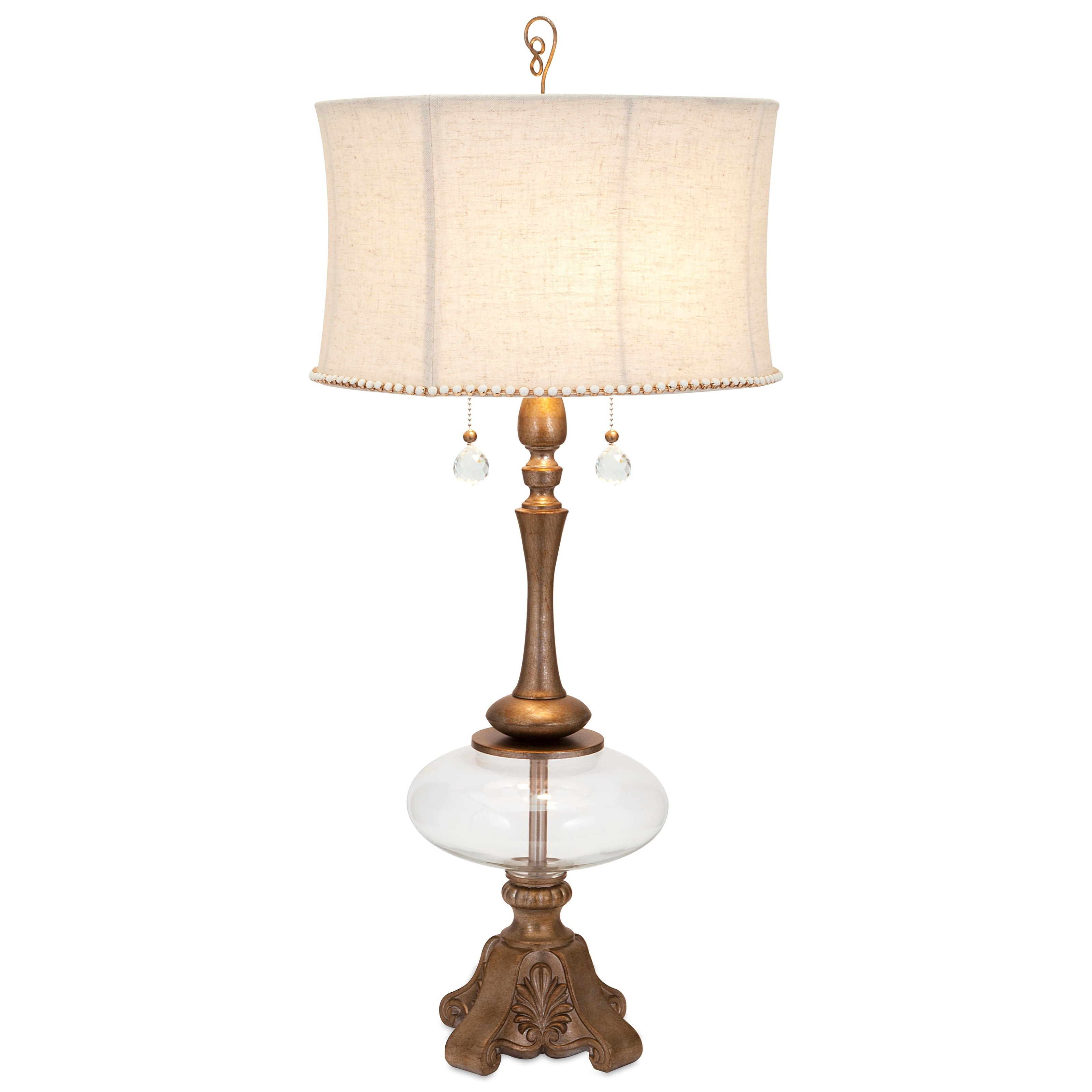 Becky Fletcher Scarlett Table Lamp by IMAX Worldwide Home at Alison Craig Home Furnishings