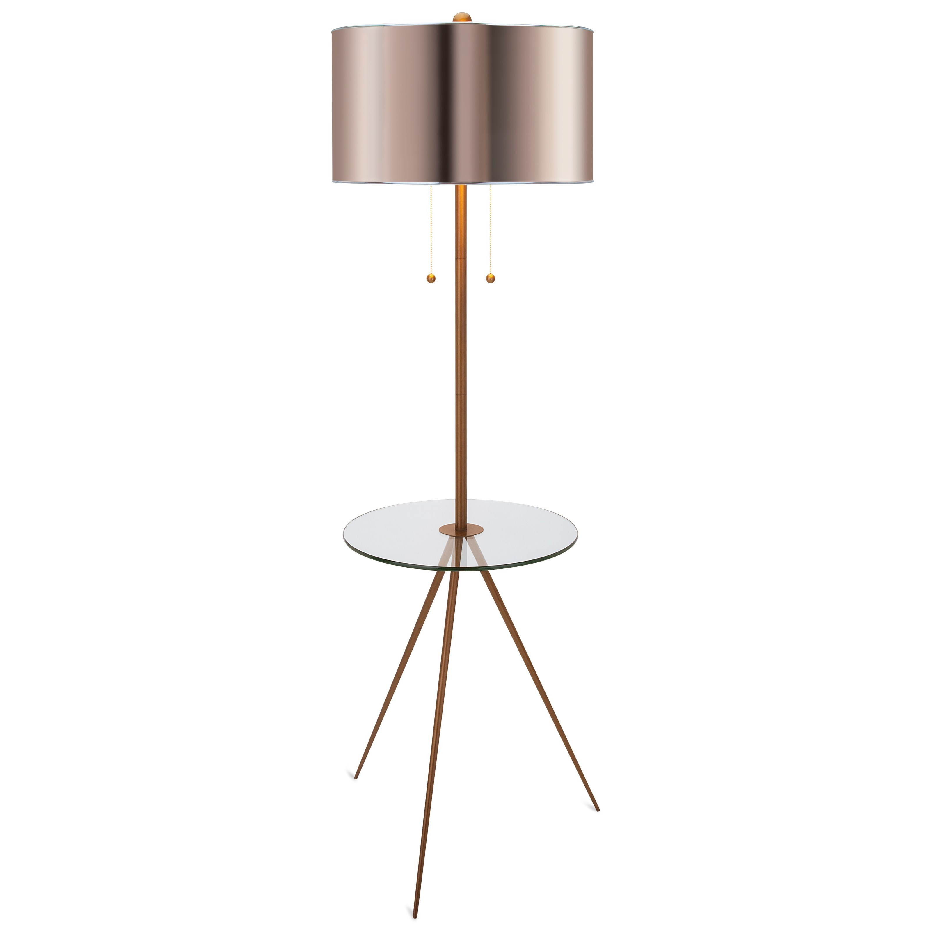 Becky Fletcher Largent Floor Lamp by IMAX Worldwide Home at Alison Craig Home Furnishings