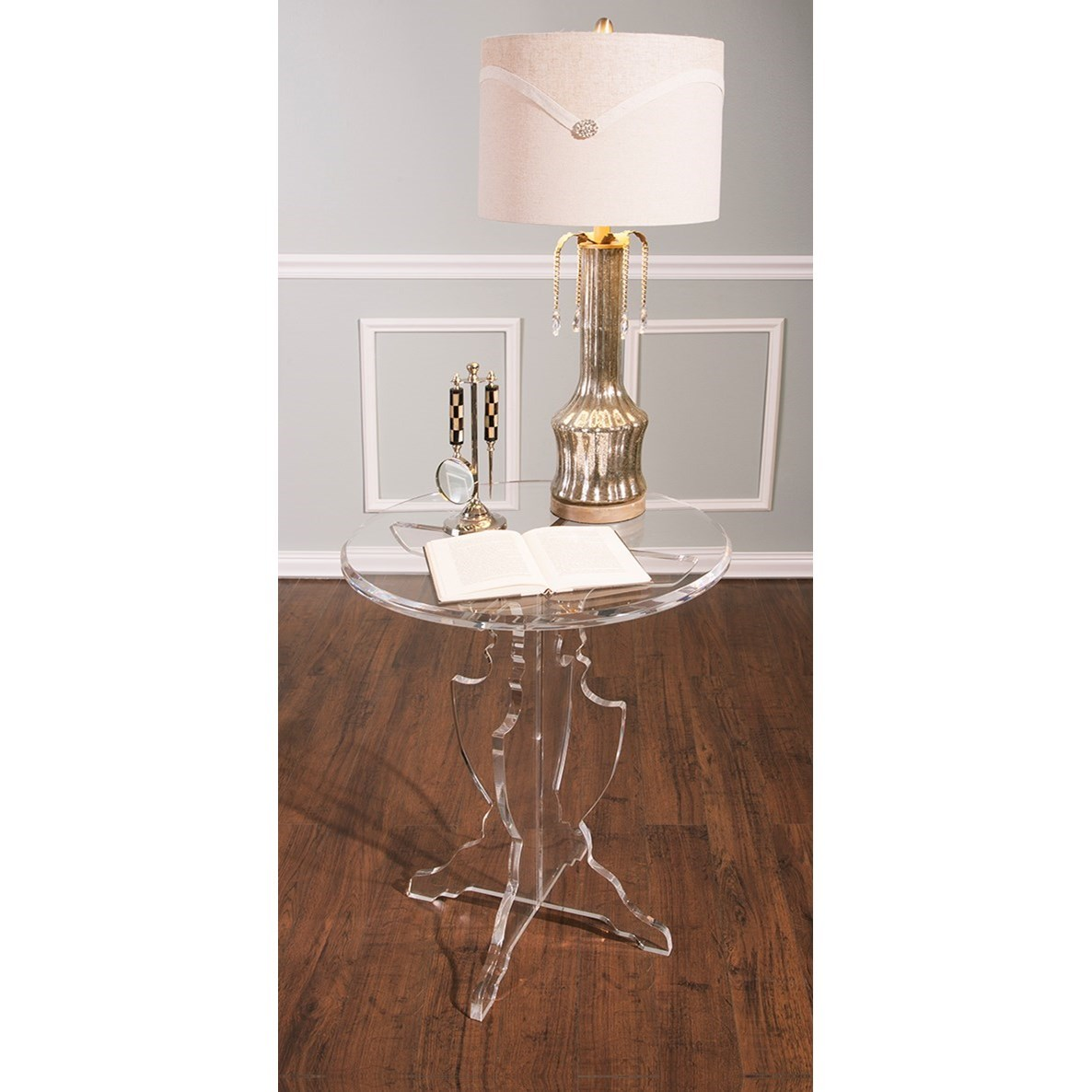 Becky Fletcher Bejeweled Table Lamp by IMAX Worldwide Home at Alison Craig Home Furnishings