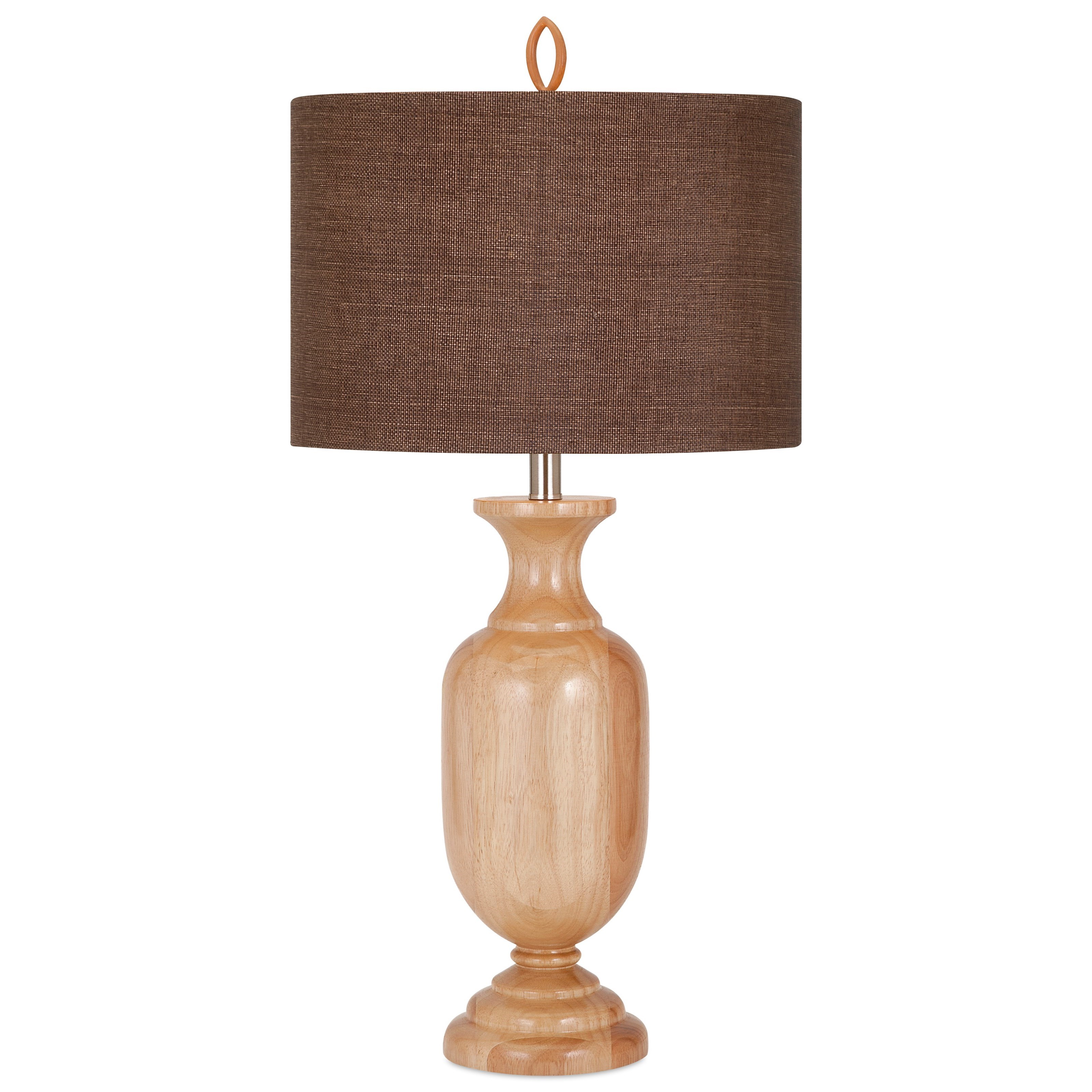 Becky Fletcher Tatum Wood Lamp by IMAX Worldwide Home at Alison Craig Home Furnishings