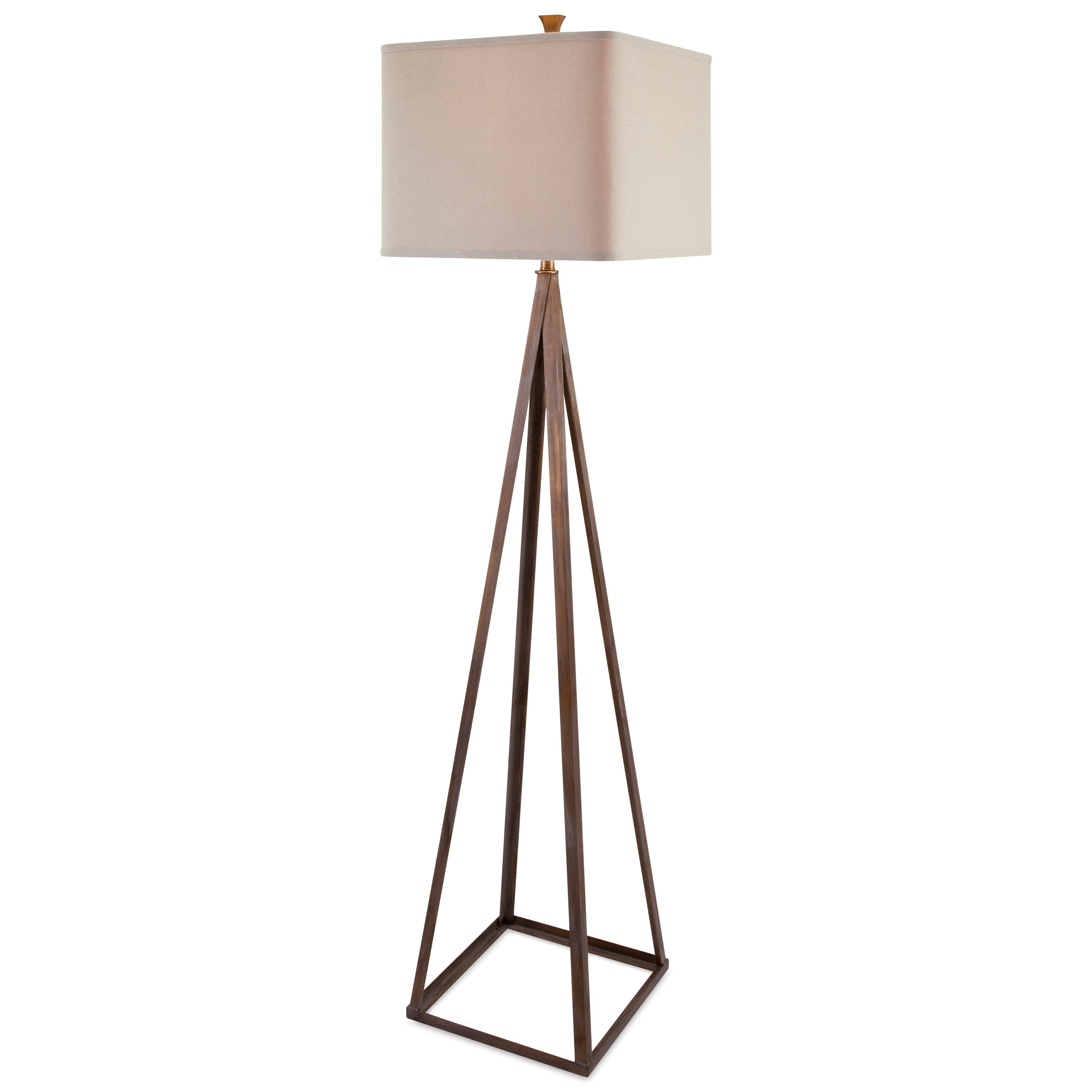 Becky Fletcher Austin Floor Lamp by IMAX Worldwide Home at Alison Craig Home Furnishings
