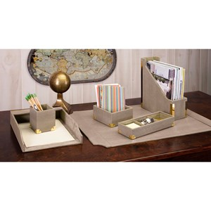 Desk Set with Gift Box - Set of 6