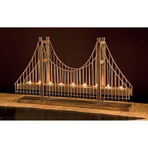 Suspension Bridge Candleholder