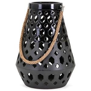 Miles Ceramic Lantern