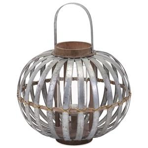 Logan Small Galvanized Lantern