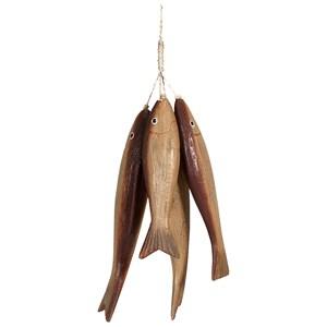 Wooden Bundle o' Fish