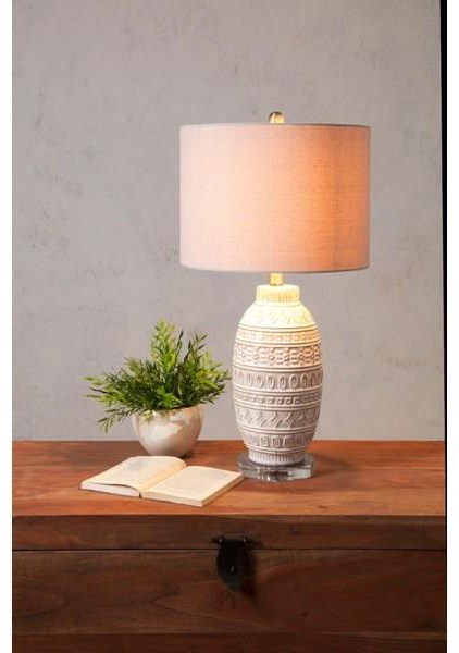 Lamps Addonis Ceramic Table Lamp by IMAX Worldwide Home at Sam Levitz Furniture