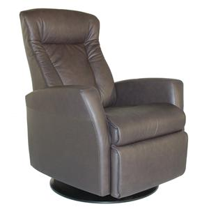 Modern Prince Recliner Relaxer with Swivel Glider Base