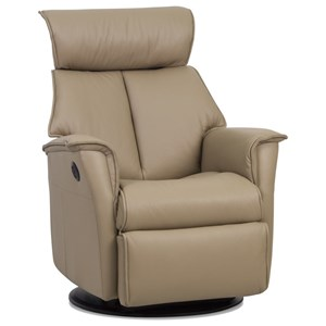 Large Power Glider Recliner with Adjustable Head and Neck Support