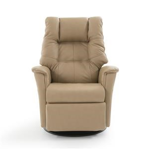 Standard Size Power Recliner with Swivel Glider Base