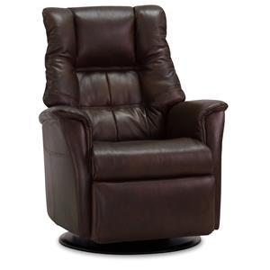 Large Power Recliner with Swivel Glider Base
