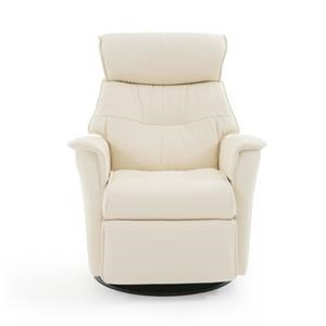 Standard Size Contemporary Recliner with Swivel Glider Base