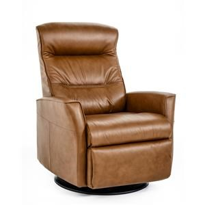 Large-Size Relaxer with Manual Recline, Swivel, Glide and Rock