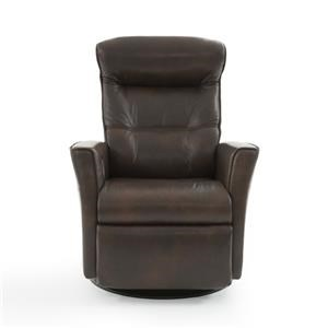 Standard-Size Relaxer with Power Recline, Swivel, Glide and Rock