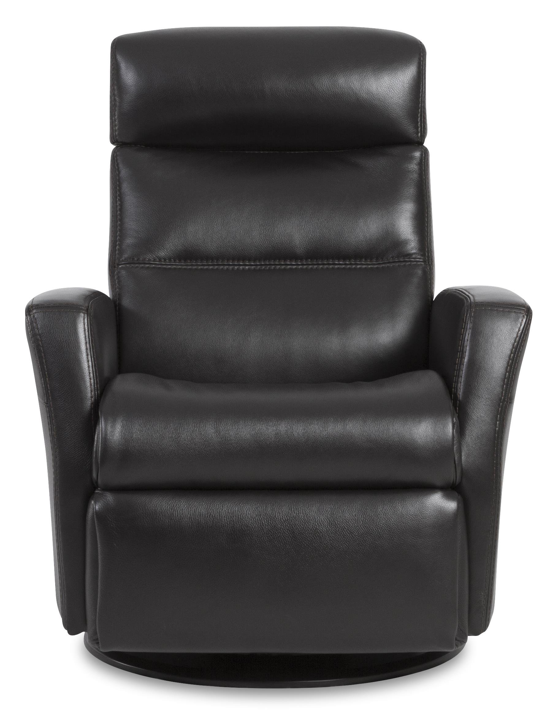 Divani  Compact Recliner with Swivel, Glide and Rock by IMG Norway at Jordan's Home Furnishings