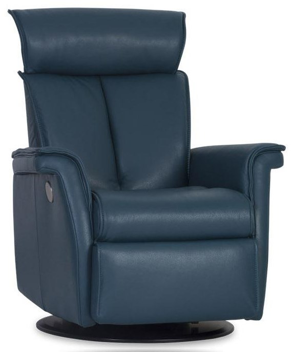 Lucas Large Power Recliner by IMG Norway at Johnny Janosik