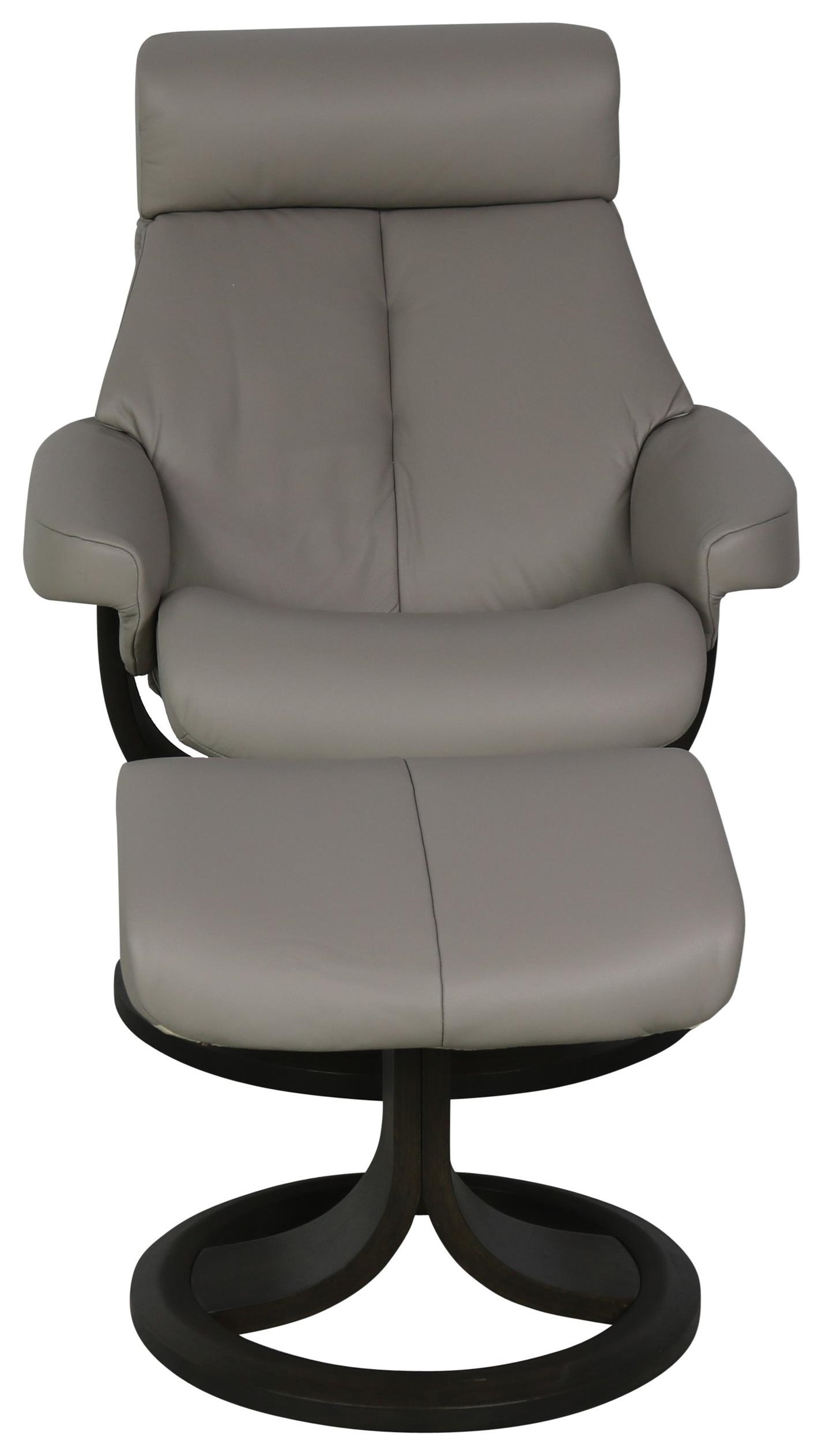 Nordic Chair and Ottoman by IMG Norway at Sprintz Furniture