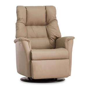 Power Recliner with Headrest and Lumbar