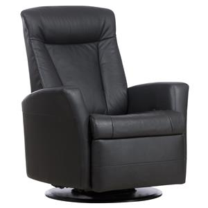 Prince Relaxer Recliner with Manual Recline, Swivel, Glide and Rock