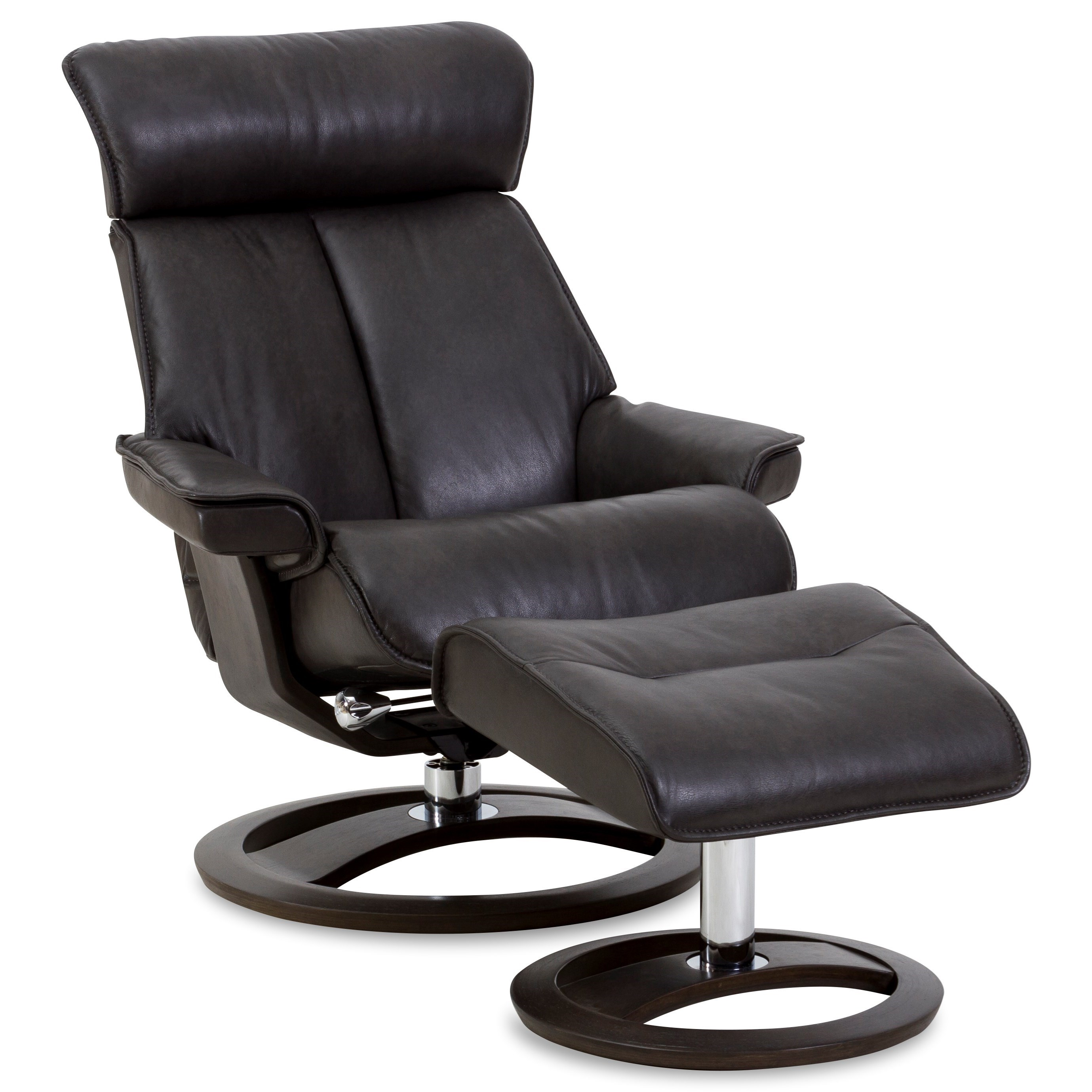 Regal Medium Novel Recliner and Ottoman by IMG Norway at Sprintz Furniture