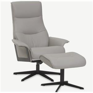 Scandi Chair and Ottoman