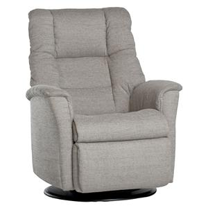 Contemporary Victor Relaxer with Swivel, Glide, Rock and Recline Functions in Standard Size