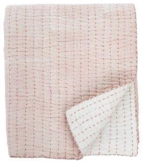 Throw Cecily Quilted Throw, Rose by Indaba at Stoney Creek Furniture